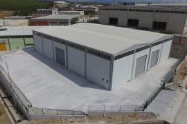Hasan Arlı Depo inşaatı