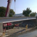 Tahtalı deresi köprü yapım işi